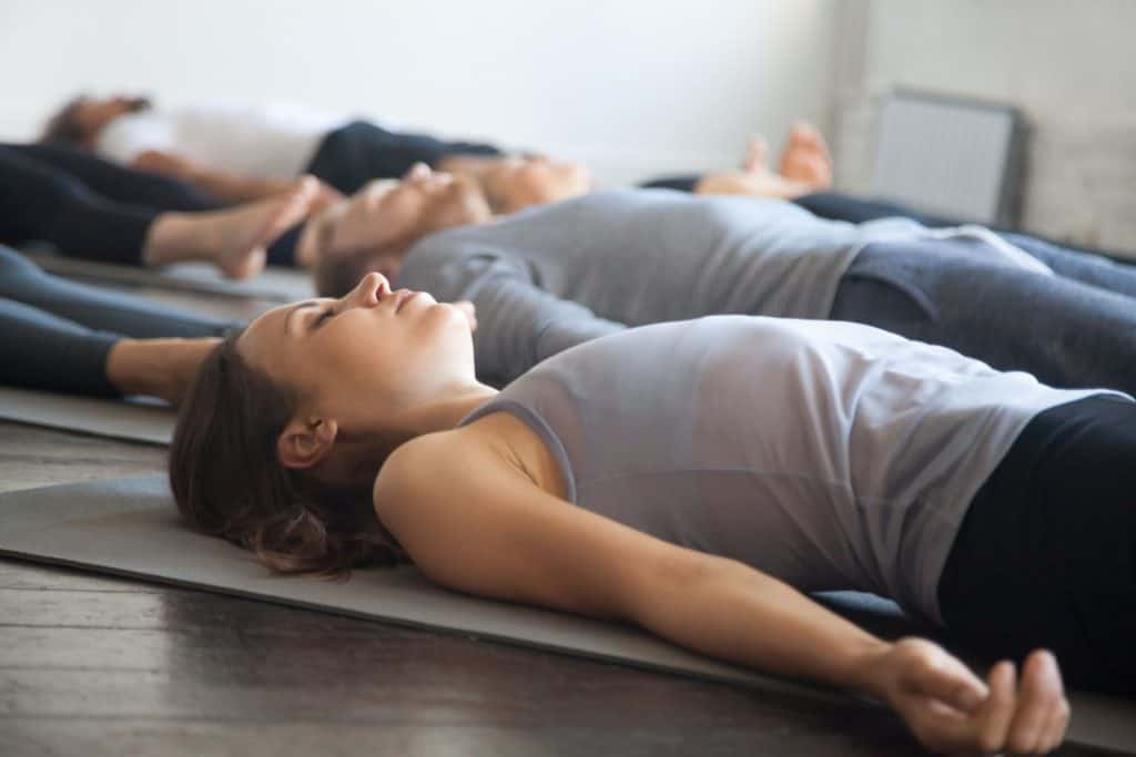 relaxation yoga class